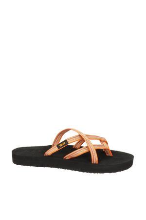 Olowahu  slippers oranje/zwart