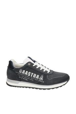 Kai  nubuck sneakers donkerblauw