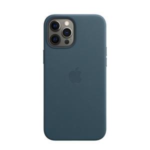 iPhone 12 Pro Ma  leren telefoonhoes (Blauw)