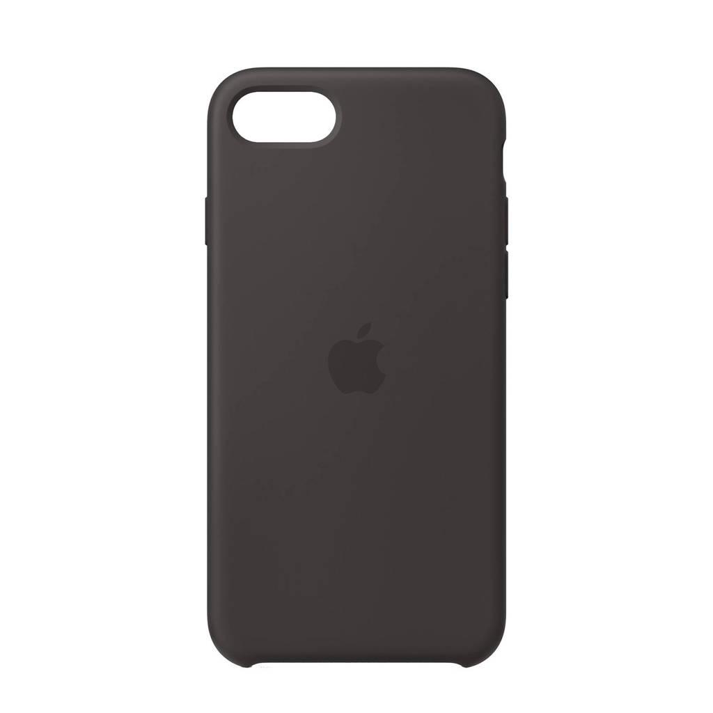 Apple iPhone SE Silico siliconen telefoonhoesje (Zwart)