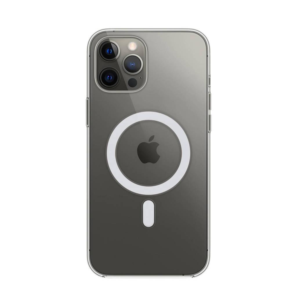 Apple iPhone 12 Pro Ma transparant telefoonhoesje met Magsafe, Transparant