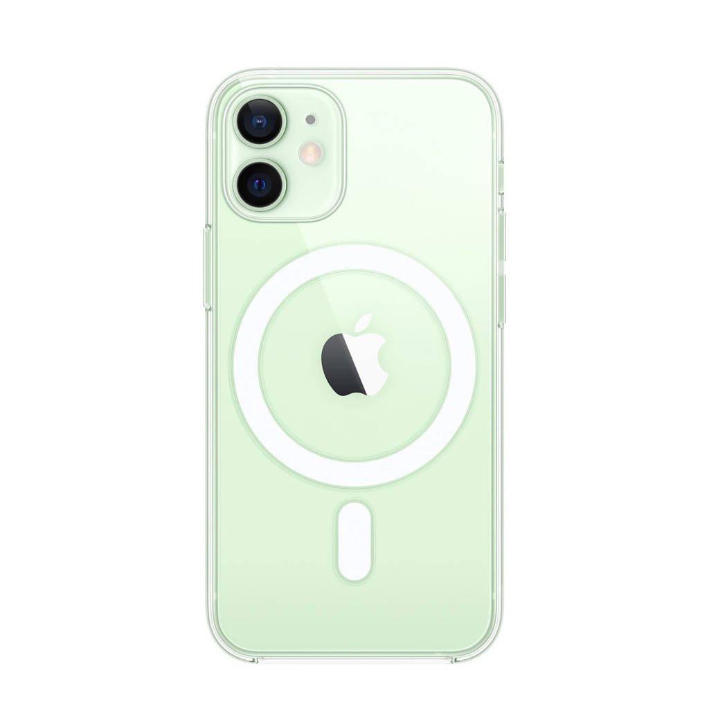 Apple iPhone 12 mini C transparante telefoonhoes iPhone 12 mini met MagSafe, Transparant