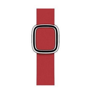 smartwatch bandje 40mm Scarlet Modern Buckle (rood) - Large