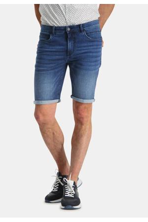 slim fit jeans short blue denim