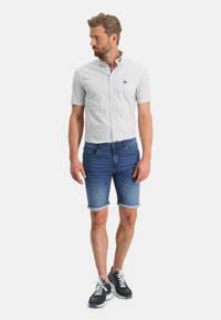 State of Art slim fit jeans short blue denim, Blue denim