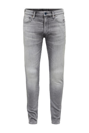 Lancet skinny fit jeans sun faded glacier grey