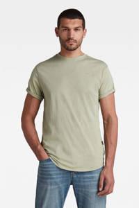 G-Star RAW T-shirt Lash van biologisch katoen lichtgroen, Lichtgroen
