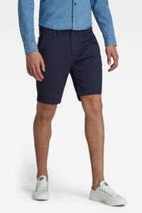 G-Star RAW Vetar regular fit chino short met biologisch katoen donkerblauw, Donkerblauw