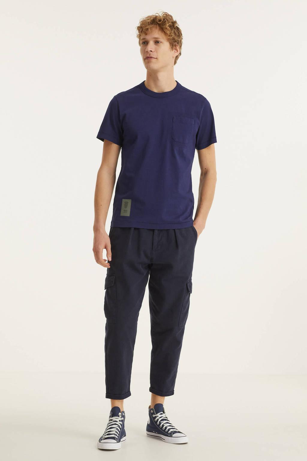 G-Star RAW T-shirt Stitch van biologisch katoen warm sartho, Warm sartho
