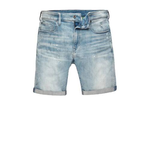G-Star RAW 3301 slim fit jeans short vintage nassau destroyed