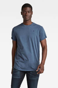 G-Star RAW T-shirt van biologisch katoen blauw, Blauw