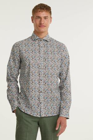regular fit overhemd met all over print caneel bay