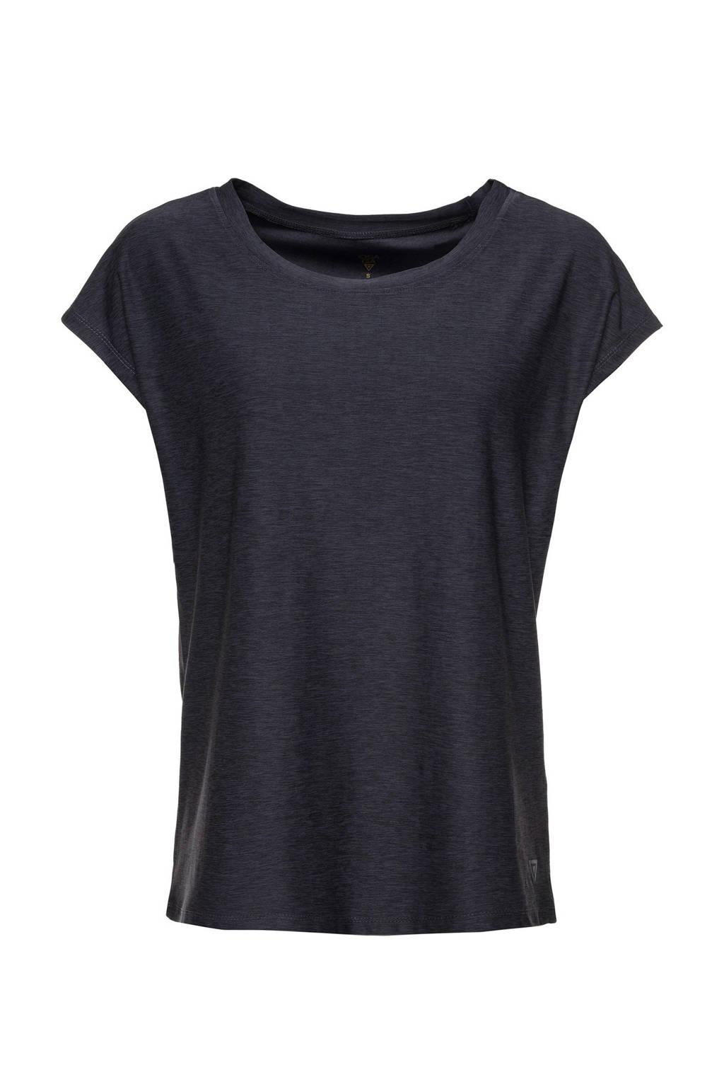 Scapino Osaga sport T-shirt grijs melange, Grijs melange