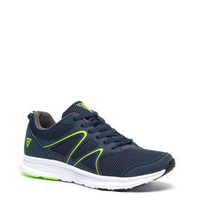 hardloopschoenen donkerblauw/groen