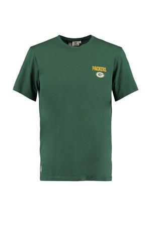 T-shirt Edge met printopdruk groen