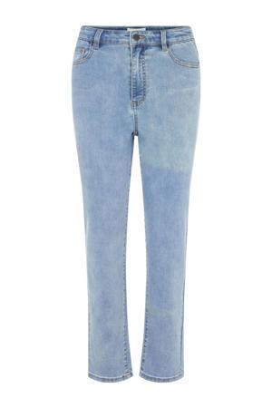 cropped skinny jeans OBJWIN light blue denim