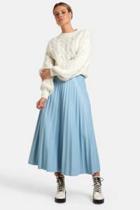 Eksept by Shoeby imitatieleren rok Lexie lichtblauw, Lichtblauw