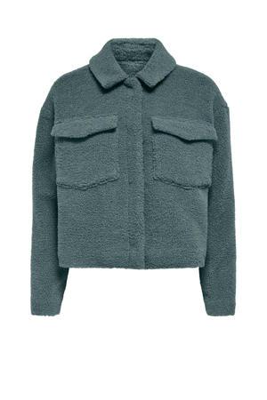 teddy jas ONLMARINA groen