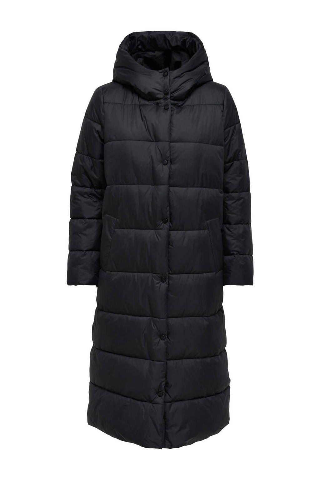 ONLY gewatteerde jas ONLCANACE zwart, Zwart