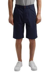 edc Men regular fit bermuda van biologisch katoen donkerblauw, Donkerblauw