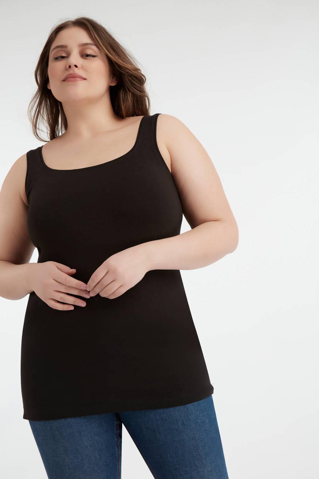 MS Mode singlet zwart, Zwart