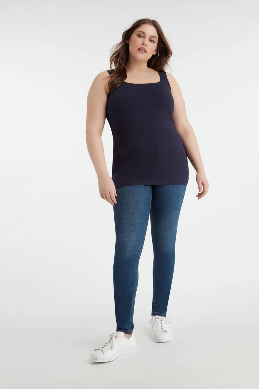 MS Mode singlet donkerblauw, Donkerblauw