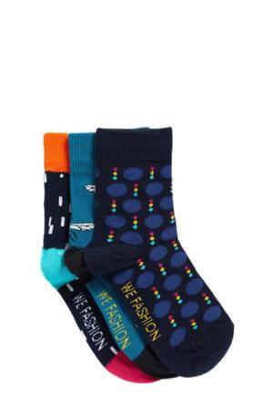sokken - set van 3 multi color