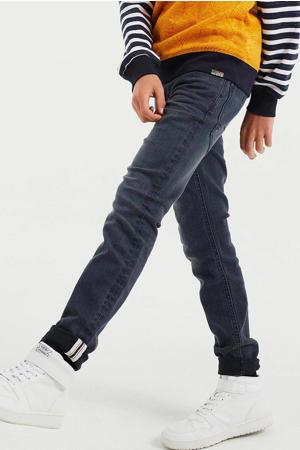 slim fit jeans blue black denim