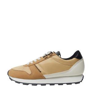 sneakers oker/bruin