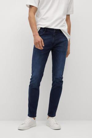 skinny jeans changeant blauw