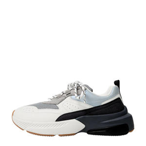 chunky sneakers wit/zwart
