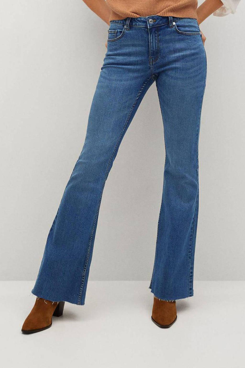 Mango flared jeans blue