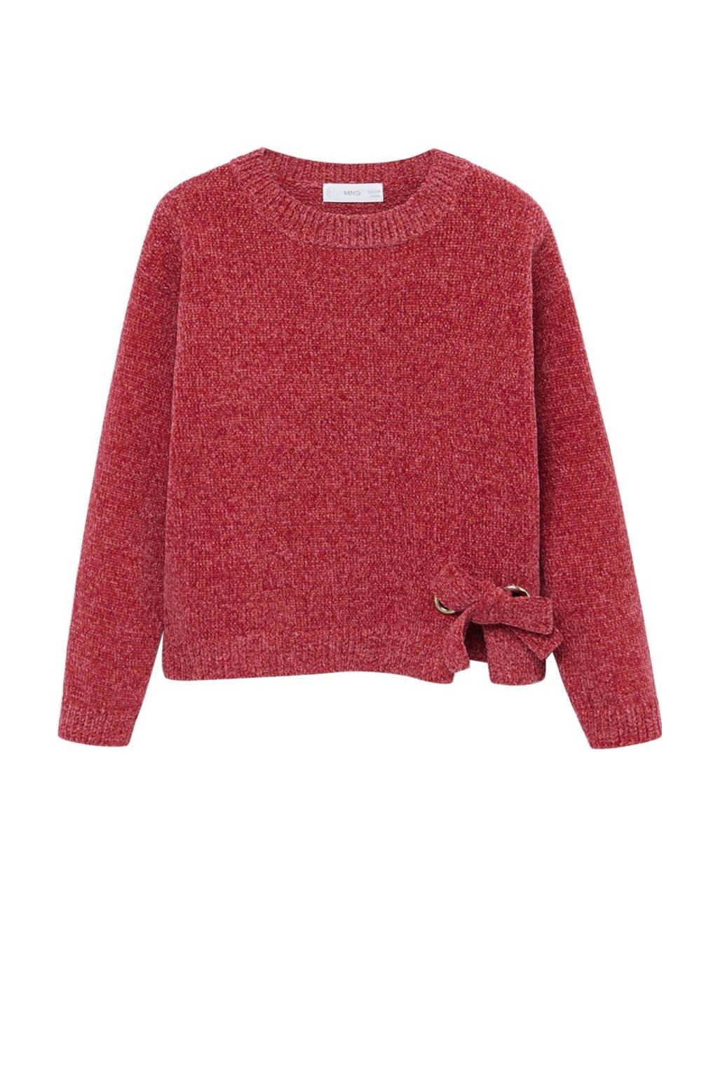 Mango Kids trui rood, Rood