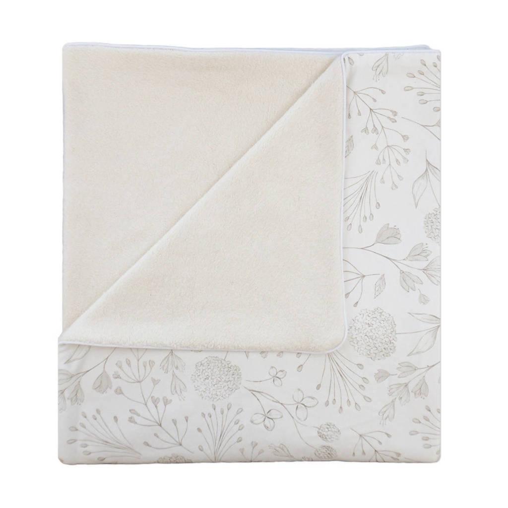 Yumi Baby ledikantdeken Fairytale 100x140 cm off white/beige