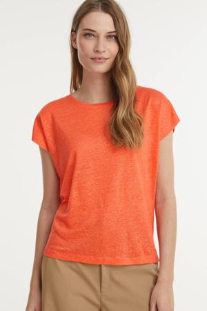 T-shirt rood/oranje