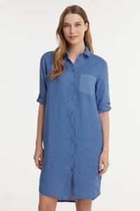 Anna blousejurk blauw, Blauw