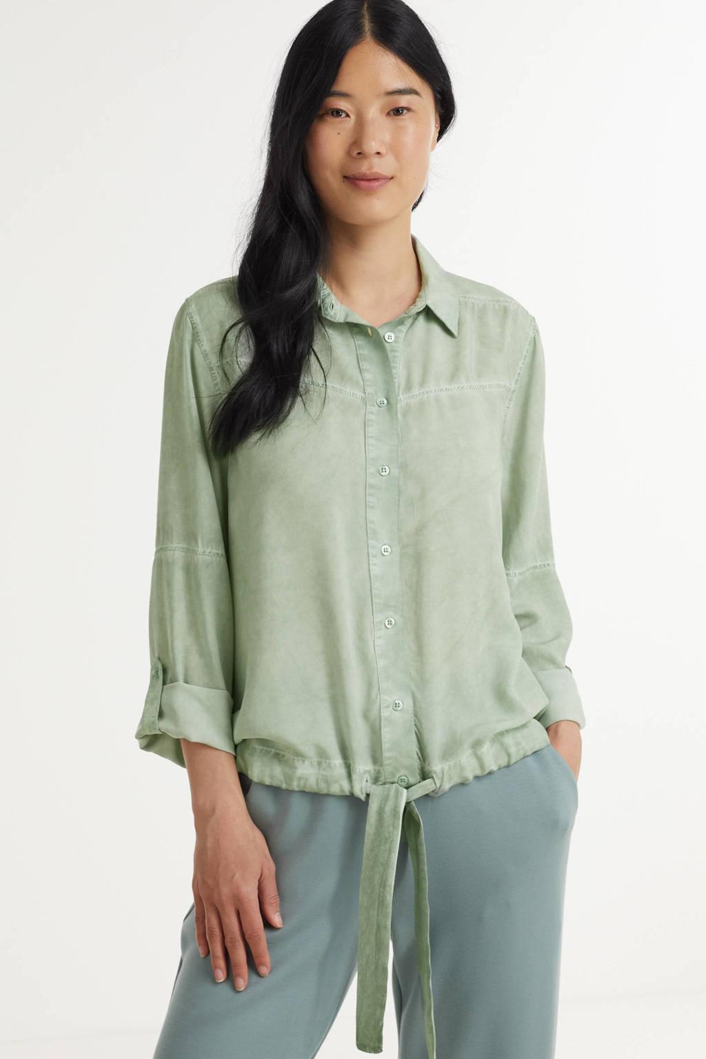 Anna blouse groen, Groen