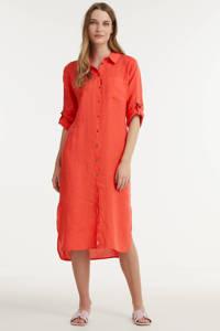 Anna blousejurk rood, Rood