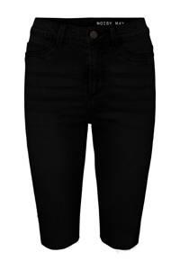 NOISY MAY high waist bermuda CALLIE zwart, Zwart