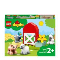 LEGO Duplo Boerderijdieren Verzorgen 10949, Multi kleuren