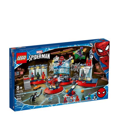LEGO Super Heroes Spider Man Aanval op de Spider Schuilplaats 76175