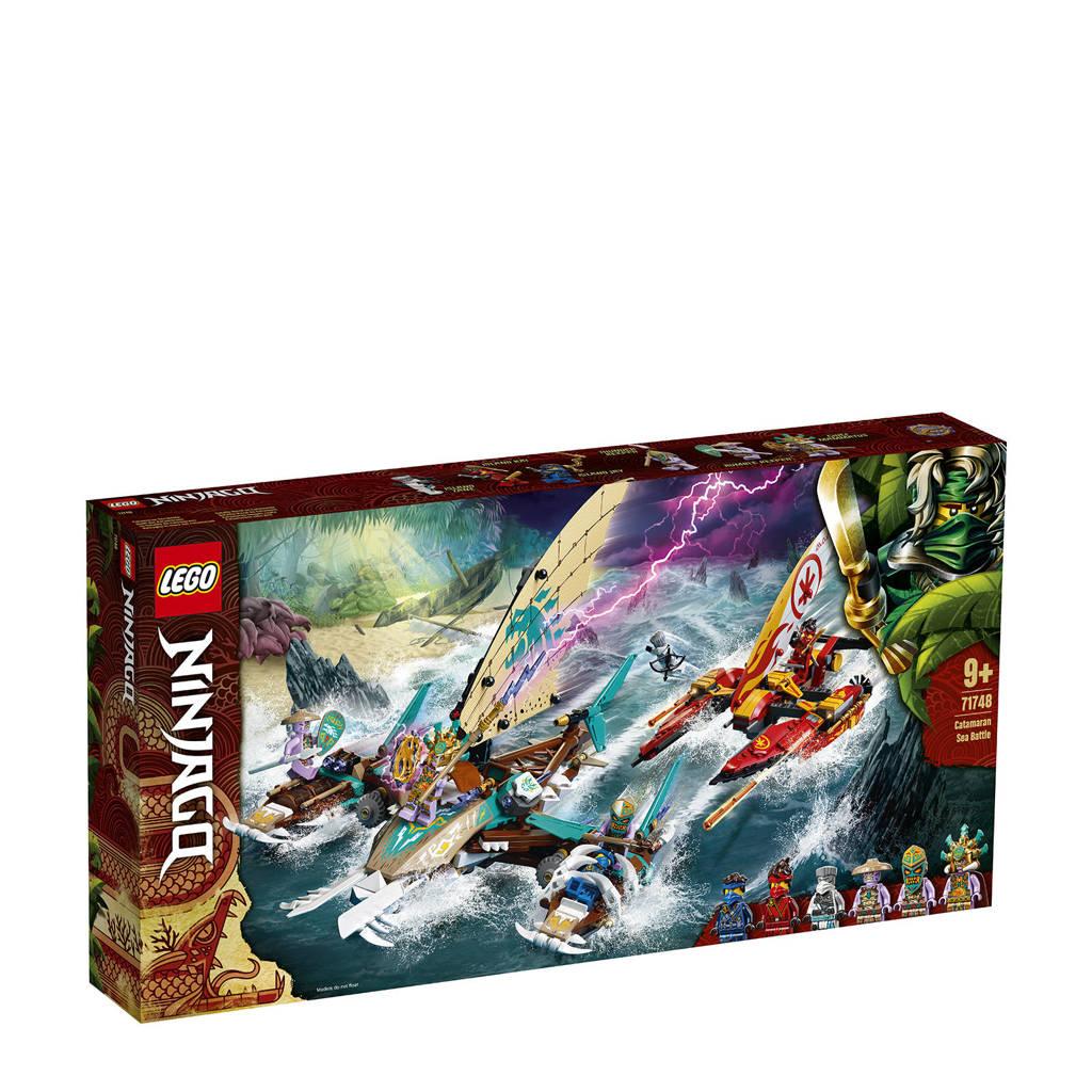 LEGO Ninjago Catamaran Zeeslag 71748, Multi kleuren