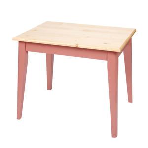 houten tafeltje pink