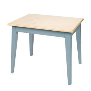 houten tafeltje blue