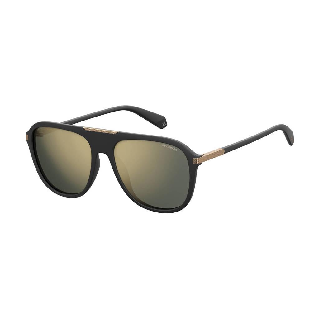 Polaroid zonnebril 2070/S/X mat zwart