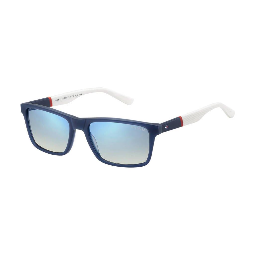 Tommy Hilfiger zonnebril 1405/S blauw/rood/wit