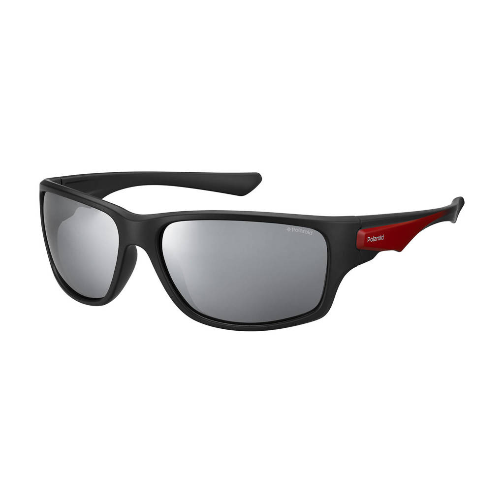 Polaroid zonnebril 7012/S zwart/rood