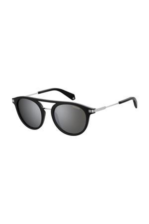 zonnebril 2061/S zwart/zilver