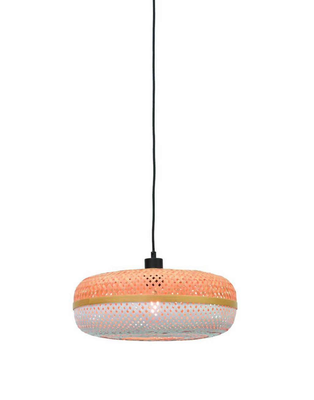 Good&Mojo Hanglamp Palawan, Wit, naturel