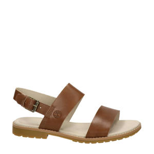 Chicago Riverside  leren sandalen bruin